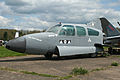 Beech 95-B55A Baron (G-AYKA) (7178702818).jpg