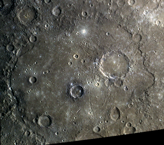 Beethoven (crater) crater on Mercury