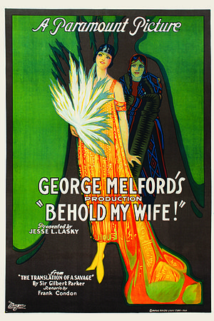 Behold My Wife! (1920 film) - Lobby poster