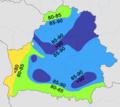 Belarus - average precipitation (July).png