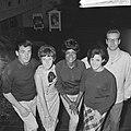 Belgische zangploeg te Knokke, v.l.n.r. Maurice Dean , Tonia, Liliane, Cecily Fo, Bestanddeelnr 917-9559.jpg