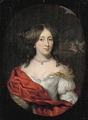 Portrait of Belichje Hulft (1656-1714), wife of Gerard Röver, Amsterdam merchant and shipowner