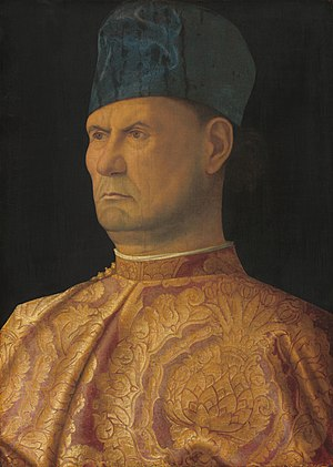 Battle of La Motta (1513) - Presumed portrait of Bartolomeo d'Alviano by Giovanni Bellini.