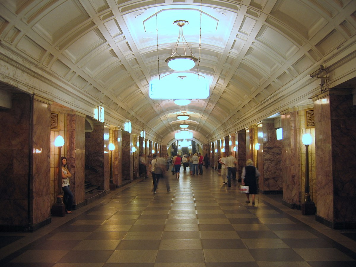 Belorusskaya (Zamoskvoretskaya line) - Wikipedia