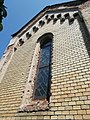 Belvárosi Calvary chapel window, Esztergom, Hungary.jpg