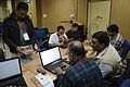 Bengali Wikipedia Editathon - Bengali Wikipedia 10th Anniversary Celebration - Jadavpur University - Kolkata 2015-01-10 3227.JPG