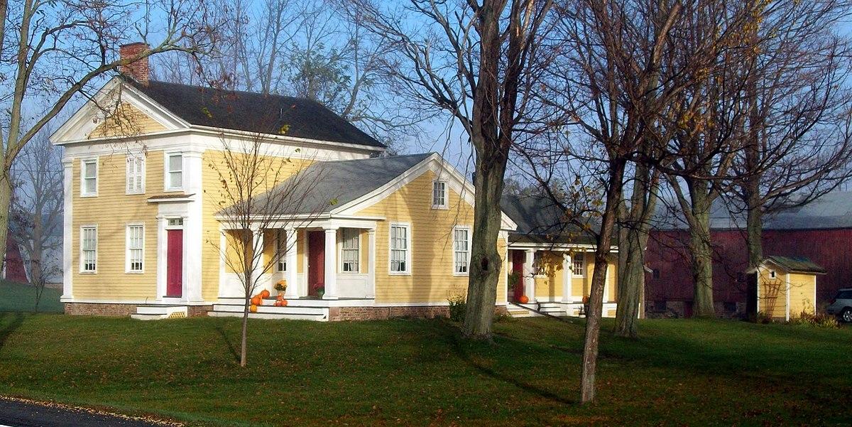 Benjamin Franklin Gates House Wikipedia