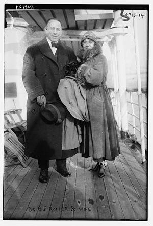 Ben Roller - Benjamin Franklin Roller in 1916
