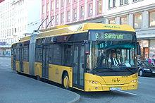 En trolleybuss i Bergen. Foto: Alasdair McLellan