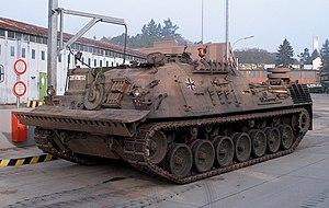 Bergepanzer 2 (standard) du 1./BeobPzArtLehrBtl 51 Idar Oberstein en 2001