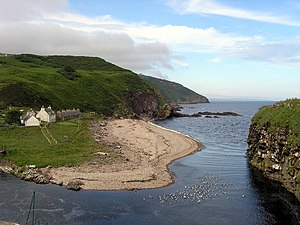 Berriedale Harbour and Beach - geograph.org.uk - 727311.jpg