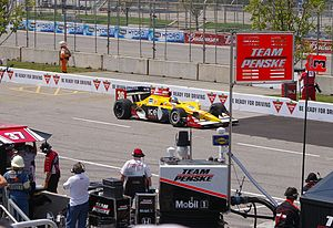 Bertrand Baguette - Baquette at the 2010 Honda Indy Toronto