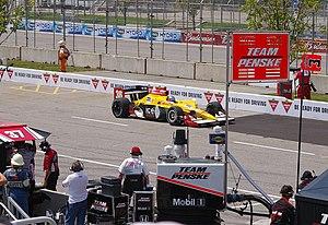 Bertrand Baguette - Baquette at the 2010 Honda Indy Toronto