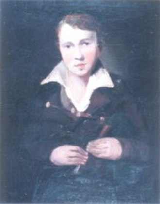 Robert Bewick - Portrait of Robert Bewick, by John Bell