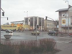 Biłgoraj - krzyż. Kościuszki - Lubelska.jpg
