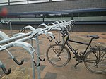 Bicycle parking of type handlebar holder