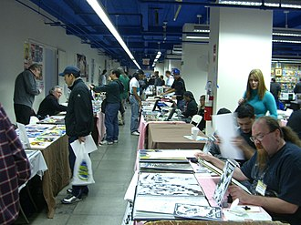 Big Apple Comic Con - Big Apple Comic Con Artist Alley 2008
