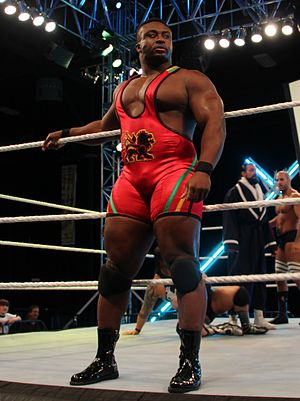 Big E (wrestler) - Big E at WrestleMania Axxess in April 2012