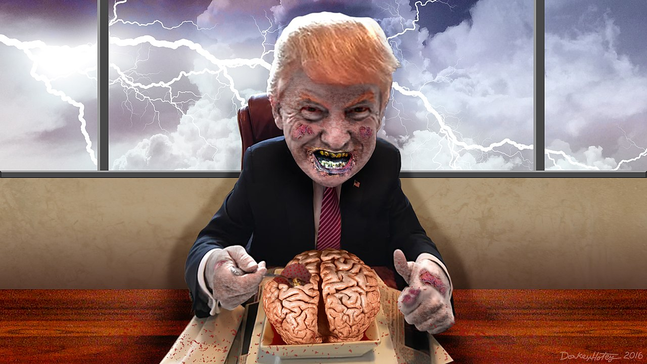 Big Orange Zombie Eating Brains (27314522295).jpg