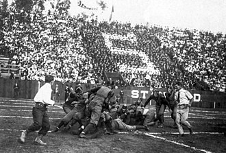 Big Game (American football) - The 1905 Big Game played at Stanford