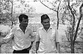 Bijay Kumar Roy And Arun Kumar Biswas - Meeting Between CMC And NCSM Officers - Science City Site - Dhapa - Calcutta 1993-04-22 0598.JPG