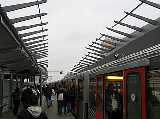 Amsterdam Bijlmer ArenA station - Image: Bijlmert 1
