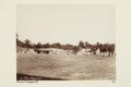 """Bild ur Johanna Kempes samling från resan till Algeriet och Tunisien, 1889-1890. """"Torg i Touggourth - Hallwylska museet - 91807.tif"""