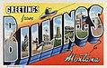Billings MT - Greetings from Billings Montana (NBY 430774).jpg