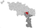 Binche Hainaut Belgium Map.png