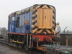Bishops Lydeard - 09019 in old Mainline livery.jpg