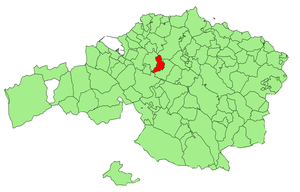 Derio - Location of Derio in Biscay