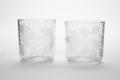 Blåsta glas med graverade växter, från 1700-talets första hälft - Skoklosters slott - 93441.tif