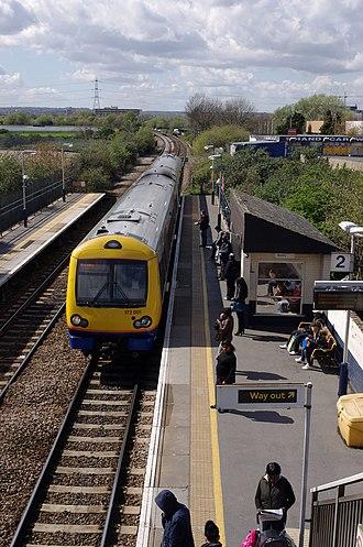 Blackhorse Road station - Image: Blackhorse Road station MMB 15 172001