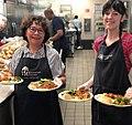 Blanchet House Portland Spaghetti Night Meal Volunteers.jpg