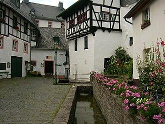 Ahr - Image: Blankenheim Eifel Ahrquelle