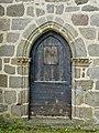 Blessac église Borne porte.jpg