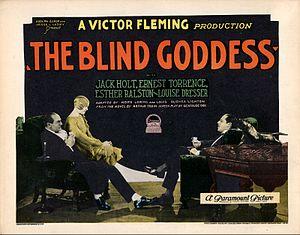 The Blind Goddess - Lobby card