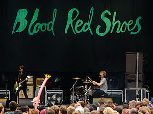 Blood Red Shoes - Image: Blood Red Shoes, Kosmonaut 08
