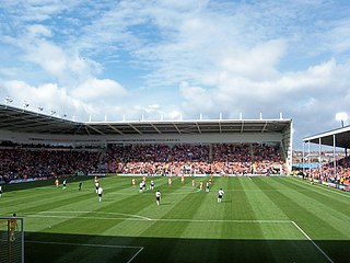 Bloomfield Road football stadium