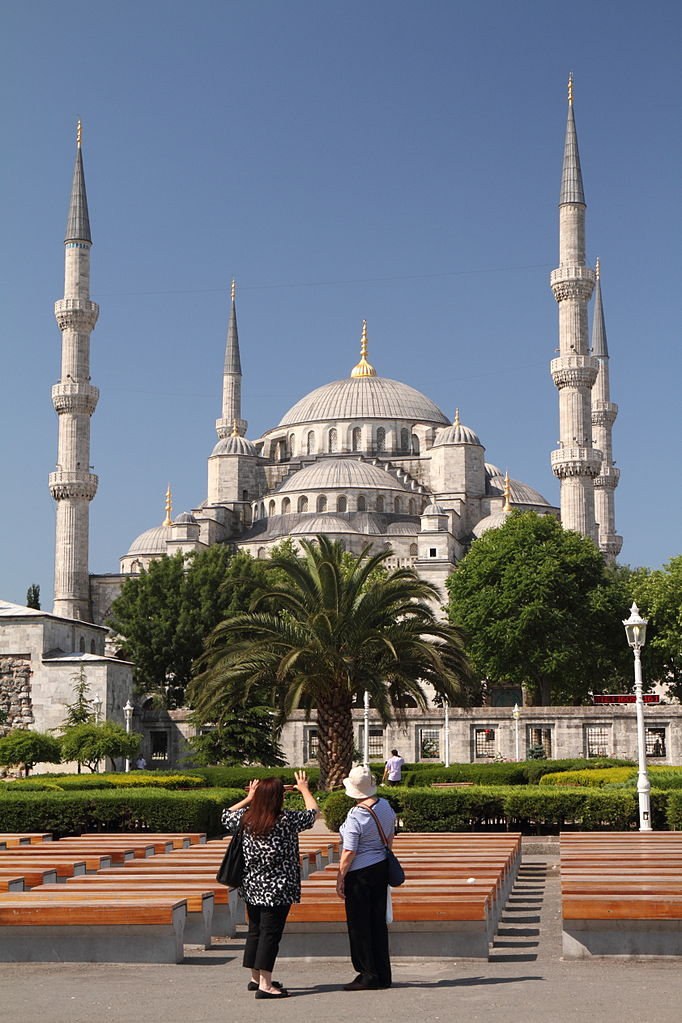 Sultan Ahmed Mosque, Istanbul, Turkey.