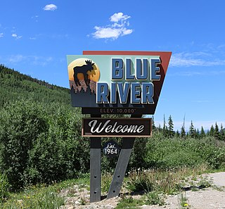 Blue River, Colorado Statutory Town in State of Colorado, United States