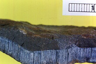 Wittenoom, Western Australia - Blue asbestos (crocidolite) from Wittenoom