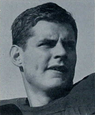 Bob Chappuis - Chappuis from the 1947 Michiganensian