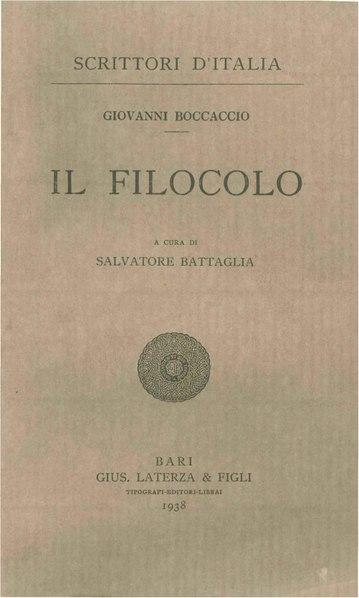 File:Boccaccio, Giovanni – Il Filocolo, 1938 – BEIC 1763746.pdf