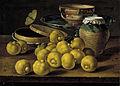 Bodegón - limas, caja de dulce y recipientes (Luis Meléndez).jpg