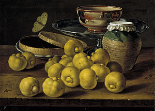 Limes, a Box of Jelly, butterfly and recipients