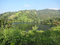 Boga Lake at Bandarban, Bangladesh.JPG