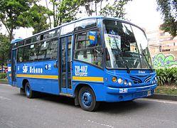 Bogotá - Bus del SITP por la carrera 11