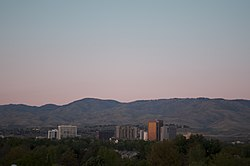 Skyline of Boise, Idaho