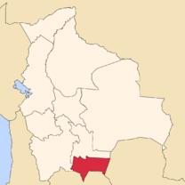 Situación de Tarija